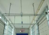 Sektionaltore / Metall / für Industrieanwendungen / für Außenbereich