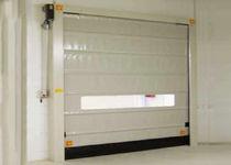 Vertikale Falt Tore / verzinkter Stahl / für Industrieanwendungen / für den Innenbereich
