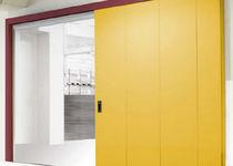 Tore zum Schieben / für Industrieanwendungen / für den Innenbereich / Brandschutz