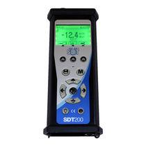 Ultraschall-Dichtheitsprüfgerät / kompakt / tragbar / für Rohre