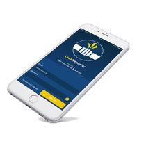 Mobile App / Inspektion / zur Leckdetektion / für Rohrleitung / Echtzeit