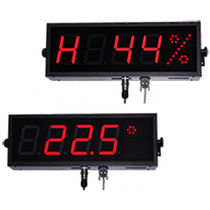 Alphanumerische-Displays / 7 Segmente / 5-stellig / zur Temperaturmessung