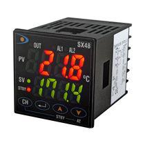 Temperaturregler mit Zweifachdisplay / thermoelektrisch / PID / kompakt