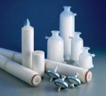 Filterpatrone für Flüssigkeiten / Sterilisation / aus Polypropylen / Membran