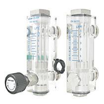 Schwebekörper-Durchflussmesser / für Wasser / für Luft / Kunststoffrohr