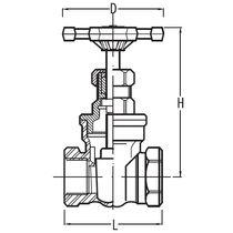 Segmentschütz / manuell / für Chemikalien / Edelstahl