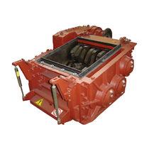 Dreiwellen-Schredder / für Abfall / robust