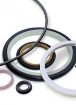 O-Ring-Dichtung / PTFE / für hohe Temperaturen