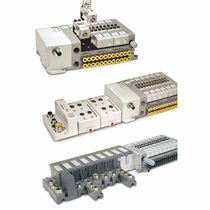 Pneumatik-Wegeventil / Schieber / mit elektrischer Bedienung / pneumatisch / kompakt