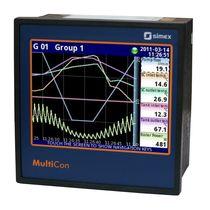 Temperaturregler mit grafischem TFT-Anzeiger / mit Touchscreen / PID / Datenerfassung