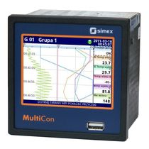 Universeller Datenlogger / Ethernet / mit Touchscreen / programmierbar