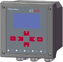 Durchflussmesser für Flüssigkeiten / für offene Kanäle / mit LCD-Display