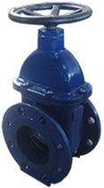Segmentschütz / mit Handrad / Verteilung / für Abwasser