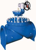 Kolbenventil / mit Handrad / Regelung / für Wasser