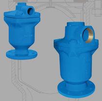 Verteilungsventil / für Wasser / pneumatisch gesteuert / 2/3-Wege