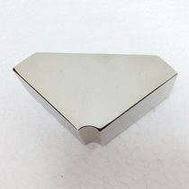 NdFeB-Dauermagnet / Quader / mit Nickel-Kupfer-Nickel-Beschichtung / für Motoren