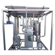 Vollautomatischer Pasteurisierer / halbautomatisch / manuell / für Fruchtsaft
