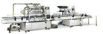 Füll-/ Verschließmaschine / Linear / Zentrifugal / für Milchprodukte / Getränke