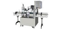 Linearverschliessmaschine / halbautomatisch / für Aerosol-Spraydosen