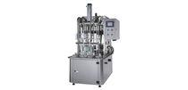 Flaschenabfüllanlage / halbautomatisch / Linear / Flüssigkeit