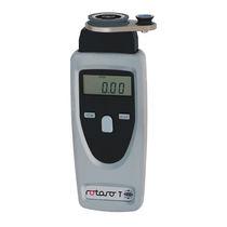Optischer Tachometer / Hand / digital / für Textilindustrie