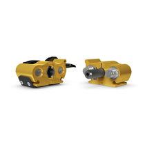 Gerader Anschluss / hydraulisch / verzinkter Stahl / Mehrfach-Kupplung