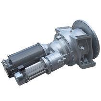 CC-Getriebemotor / Flach