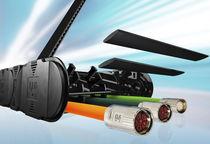 Energieführungskette zum Öffnen / Kunststoff / mit Trennern / leicht