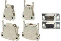 Datensteckverbinder / D-sub / DIN / gerade Ausführung