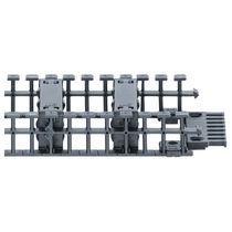 Partiell geschlossenes Energieführungskette / Kunststoff / geräuscharm / Minimale Vibrationen