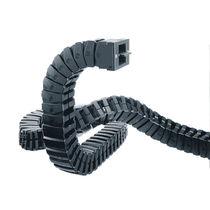 Kunststoffenergieführungskette / partiell geschlossener / flexibel / modulierbar