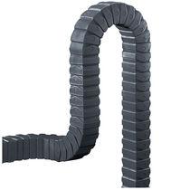 Kunststoffenergieführungskette / modulierbar / aufklappbaren Kettengliedern / für 3D-Bewegungen