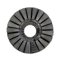 Energieführungskette / aufklappbaren Kettengliedern / Kunststoff / Spiral / schwenkbar