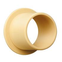 Zylinderförmiges Gleitlager / iglidur® / fuß verschleißfest / robust