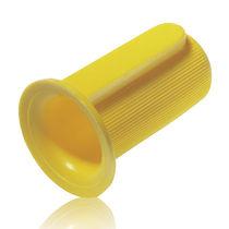 Runde Kappe / Polyethylen mit geringer Dichte LDPE / Wellenschutz
