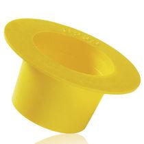 Konische Kappe / Polyethylen mit geringer Dichte LDPE / Flansch