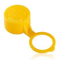 Runde Kappe / Polyethylen mit geringer Dichte LDPE / Abziehgriffen