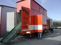 Mühle für Kunststoff / für das Recycling / für mobile Anwendungen