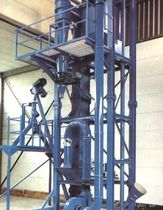 Pneumatischer Abscheider / Partikel / Granulat / für Schüttgut