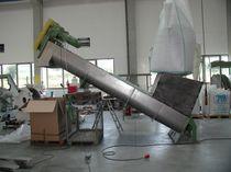 Förderer / wellenlose Schneckenförderung / für die Recyclingindustrie / für Späne / für Schüttgut