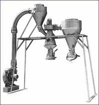 Zyklonabscheider / Granulat / für Schüttgut / Kunststoff