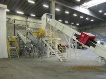 Wasserreinigungsanlage / Wasserstrahl / automatisch / für die Recyclingindustrie