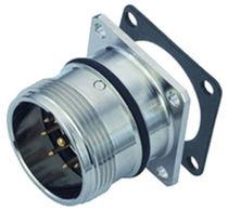 RF-Steckverbinder / D-sub / rechteckig / zylinderförmig