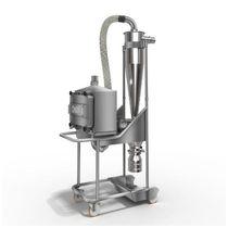 Zyklonabscheider / für gefährlichen Staub / mobil / Vakuum