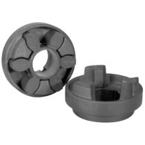 Drehelastische Kupplung / für Industrieanwendungen / kompakt / flammenbeständig