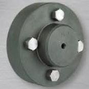 Kupplung für Industrieanwendungen / Stahl / Flansch