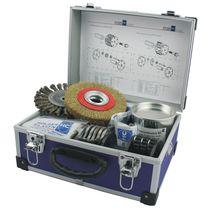 Reinigungsanlage / aqueu Mitte / manuell / Prozess / Bürsten
