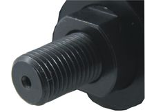 Lamellen-Druckluftmotor / mit Schraubverbindung