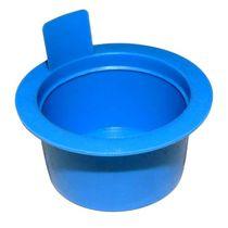 Runder Stopfen / gewindelos / Außen / Polyethylen mit niedriger Dichte LDPE