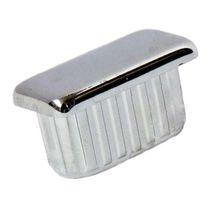 Gewindelose Endkappe / rechteckig / ABS / für Rohre